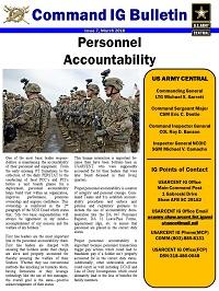 IG | U S  Army Central