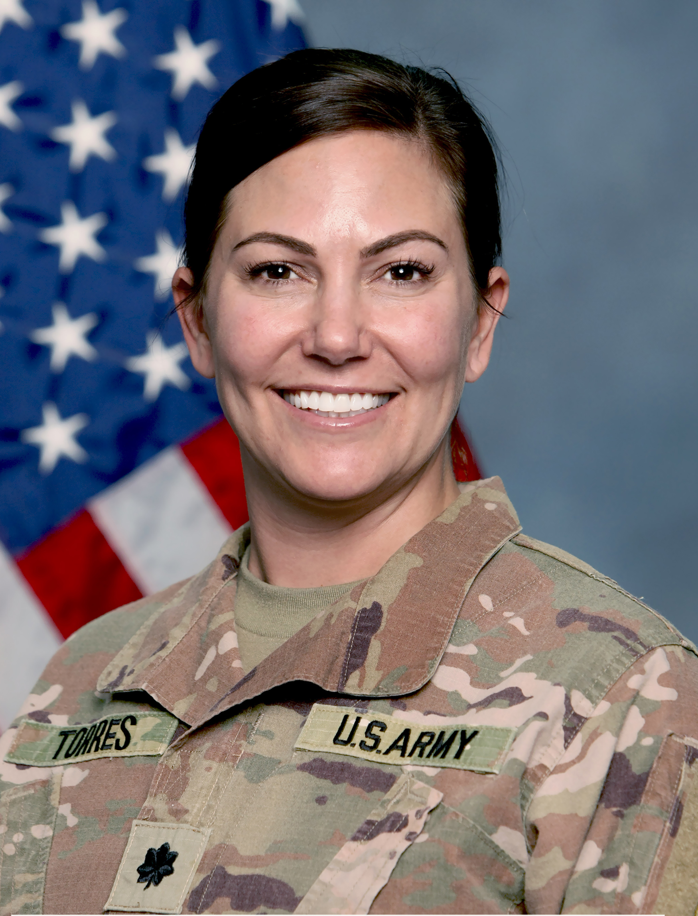 Lt. Col. Aimee Torres Command Photo